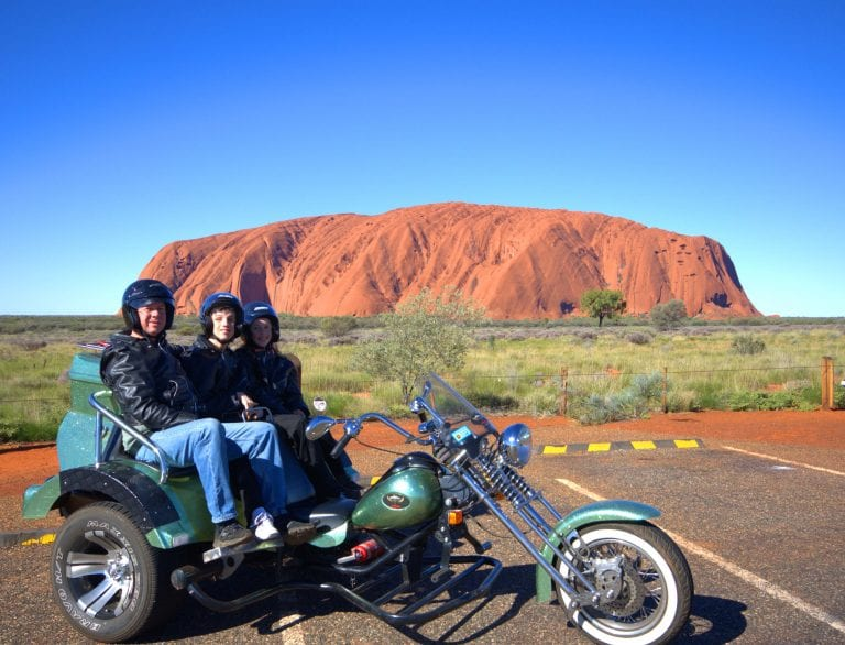 Uluru Cycles tour to Uluru 1024