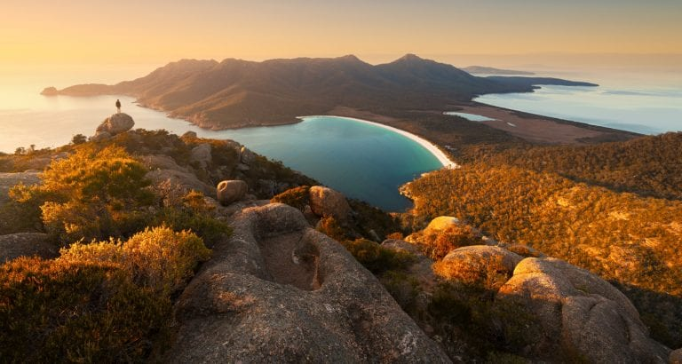 FEATURE TAS Wineglass Bay Mandatory credit Matt Donovan