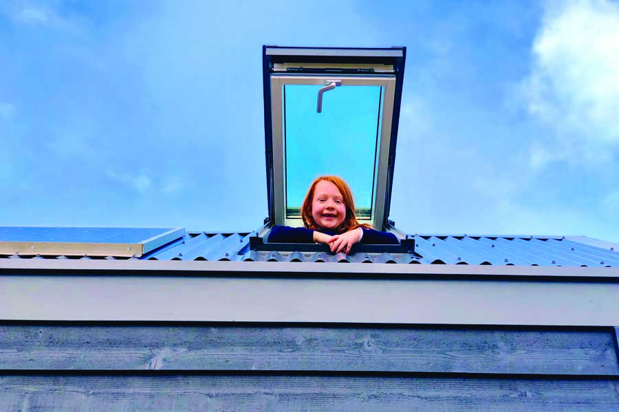a birdseye view from the tiny house loft at edmond in nsw 1