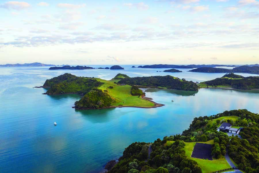 explore the bay of islands in northland. image shaun jeffers paroa bay winery
