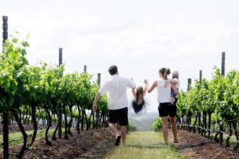 feature a family at scarborough wines in the nsw hunter valley