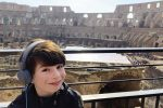 feature paxton during a tour of the colloseum in rome