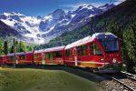 feature the bernina express in switzerland