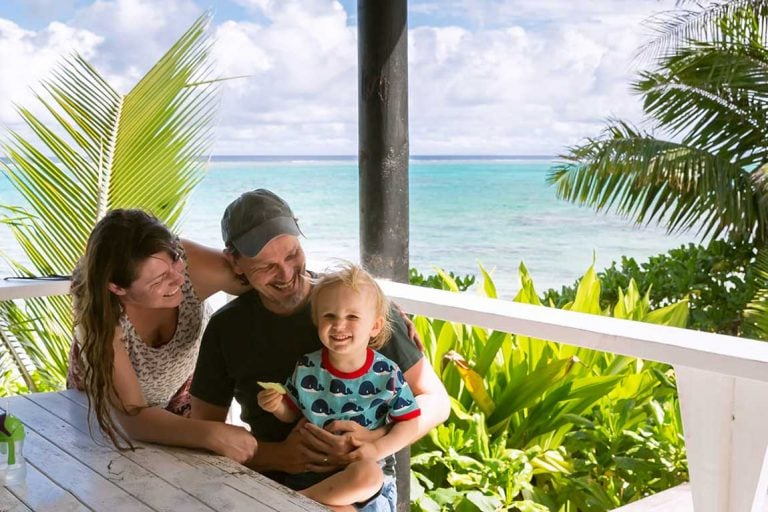 feature the family love returning to the cook islands