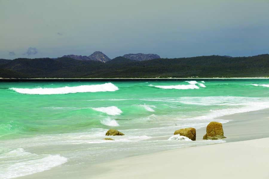 friendly beaches in freycinet national park. image pete harmsen