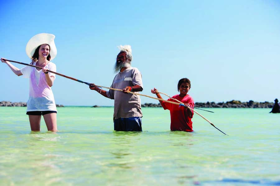 learn about indigenous culture at kooljaman at cape leveque. image james fisher tourism australia