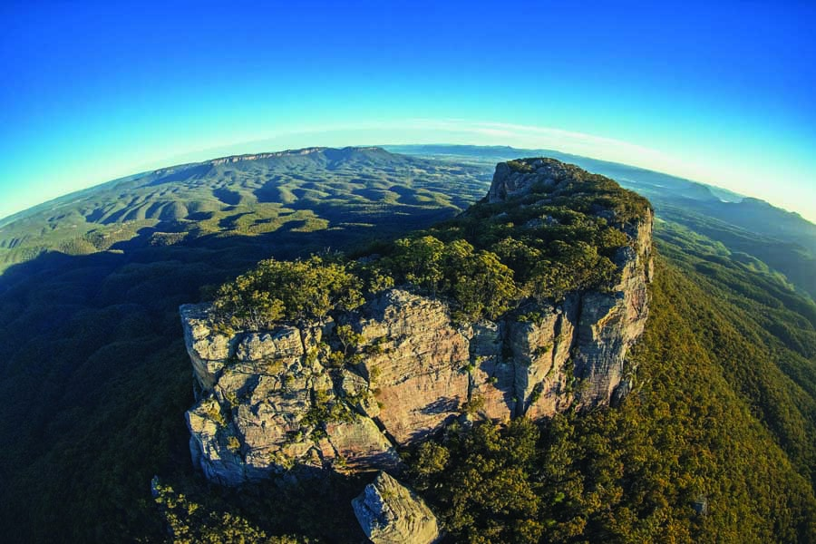 the capertee valley is the second widest in the world. image destination nsw