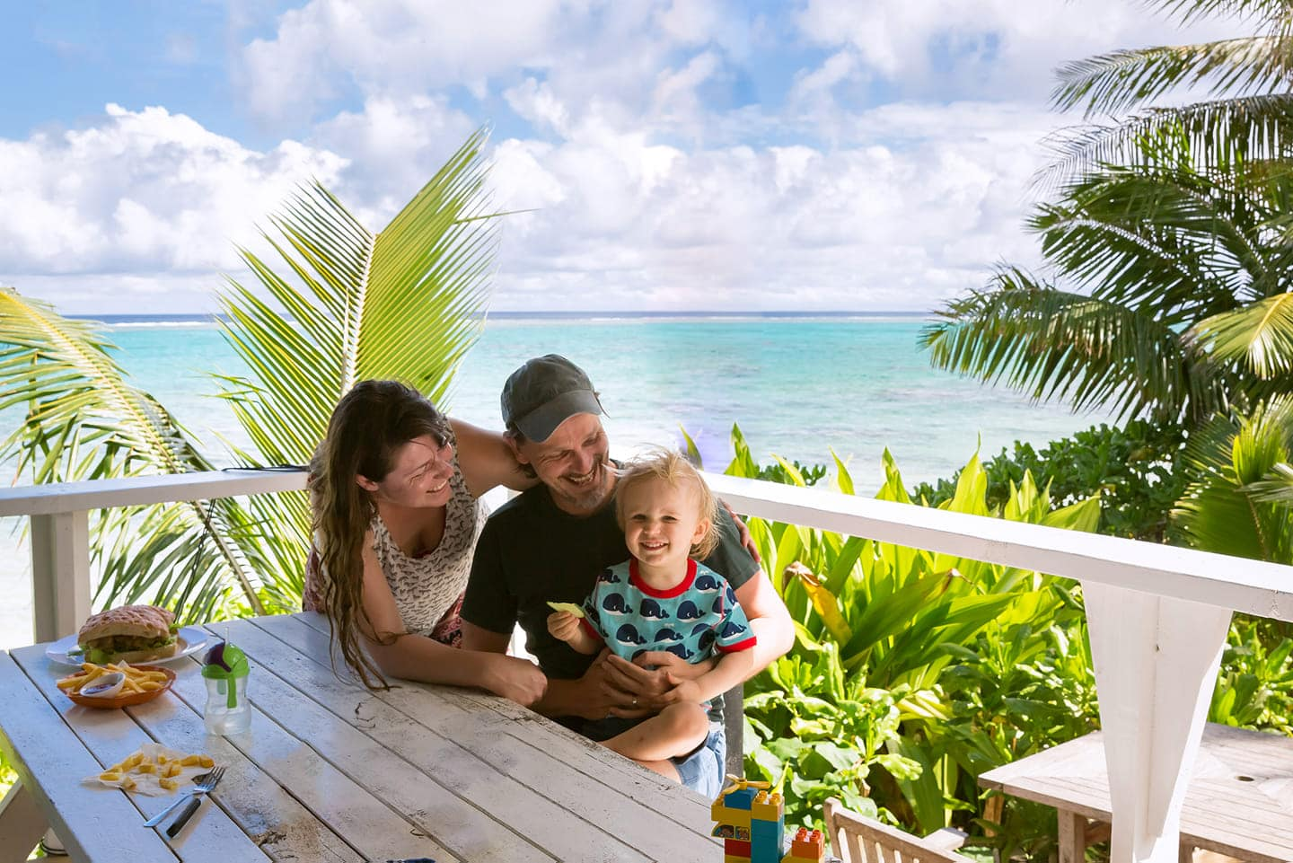 the family love returning to the cook islands