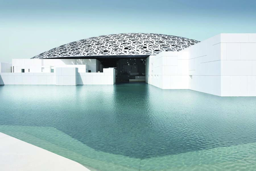 the louvre abu dhabi. image mohamed somji