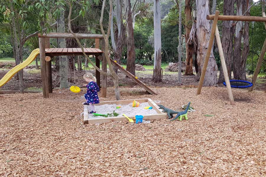 the playground at rivendell restaurant and cellar door