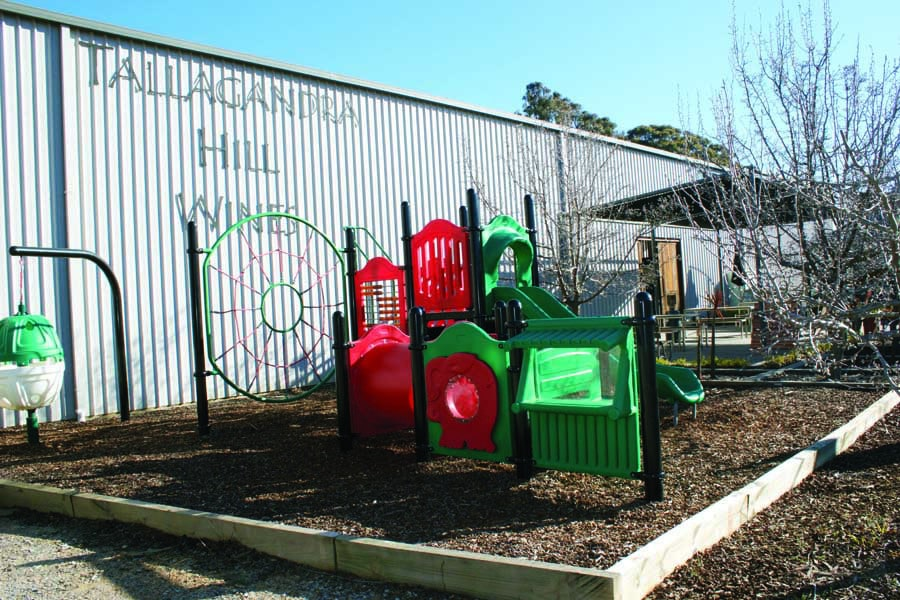 the playground at tallagandra hill winery 1