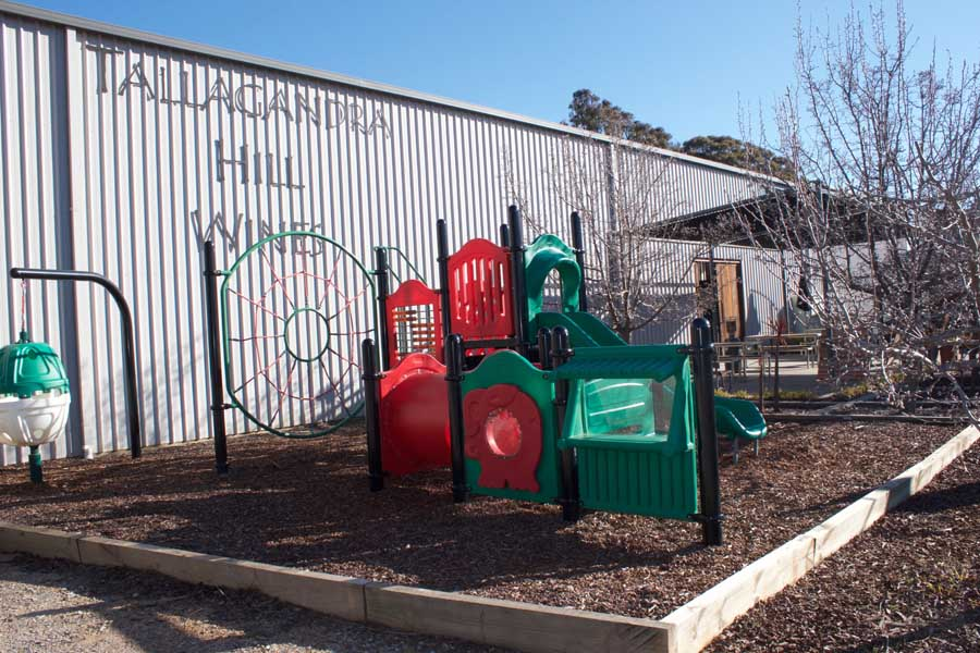 the playground at tallagandra hill winery