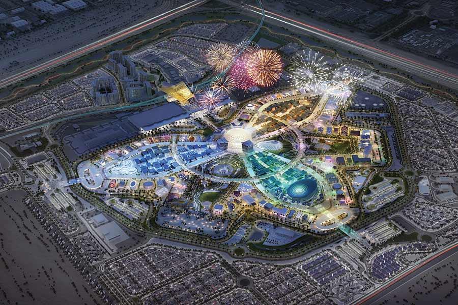 whats on dubai expo 2020 fireworks