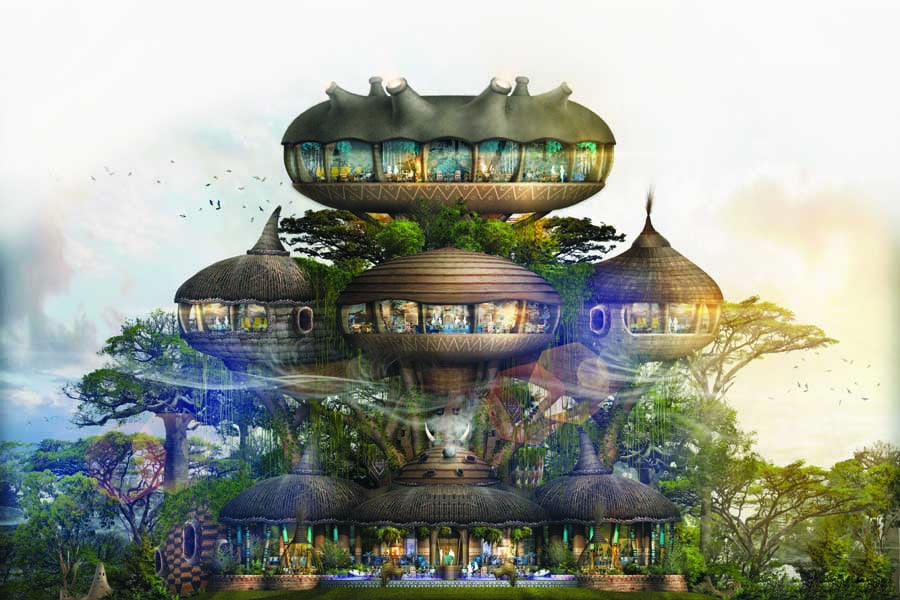 an artist impression of africa the colony at worldwide china