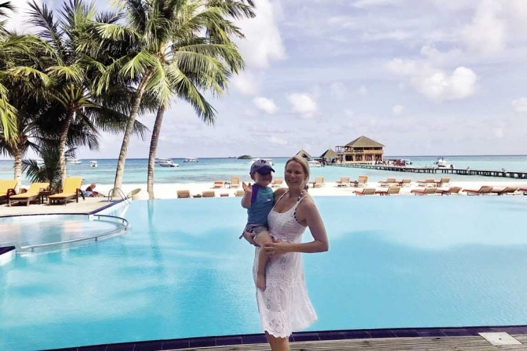 feature rachael and james at club med kani in the maldives