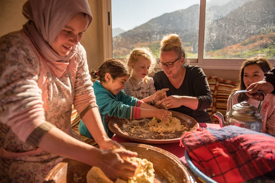 a homestay in atlas mountains morocco intrepid travel