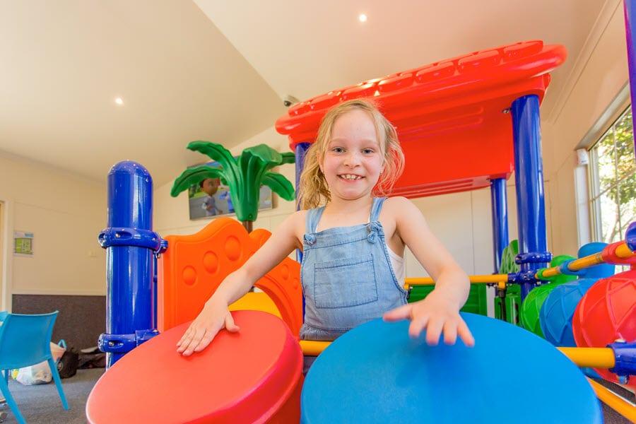 indoor playland at big4 ballarat goldfields holiday park