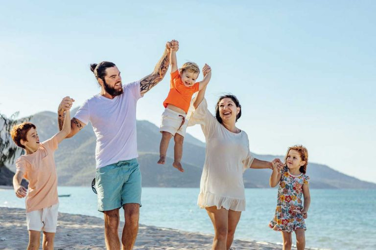 feature tash and her family love exploring the whitsundays