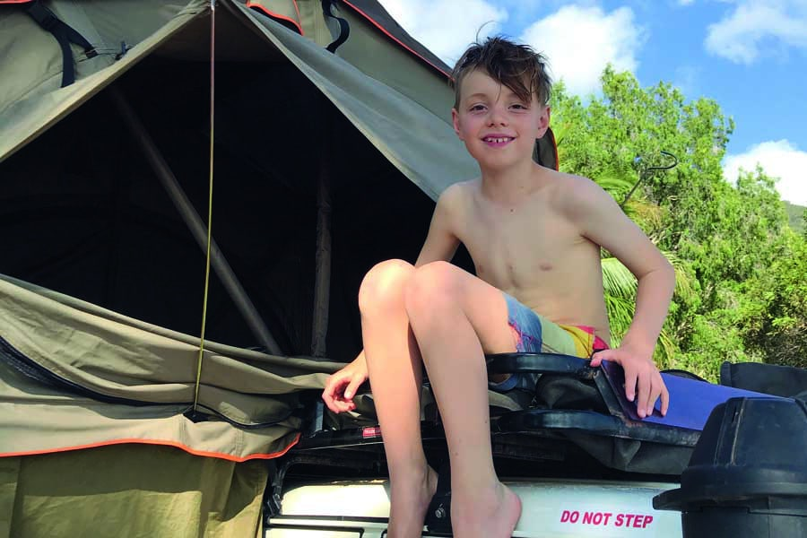 kids love camping. image ultimate campsites australia