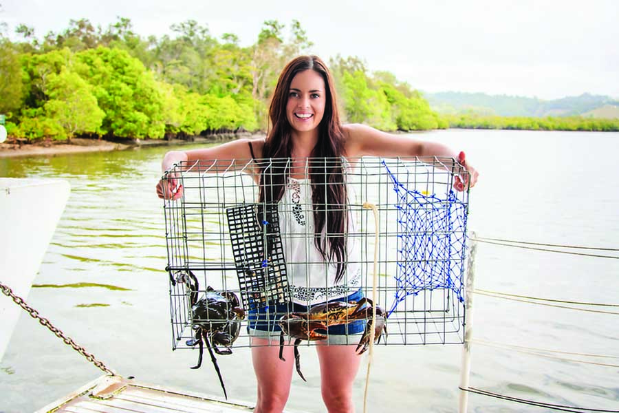 learn how to catch crabs in the tweed