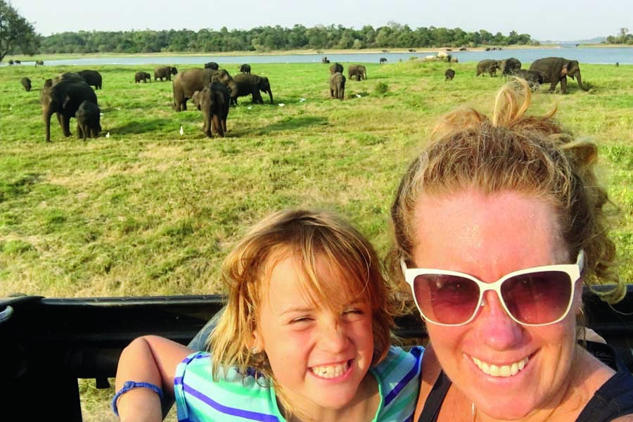 well never forget seeing wild elephants at minneriya