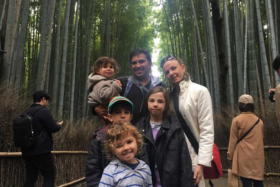 the family in japan