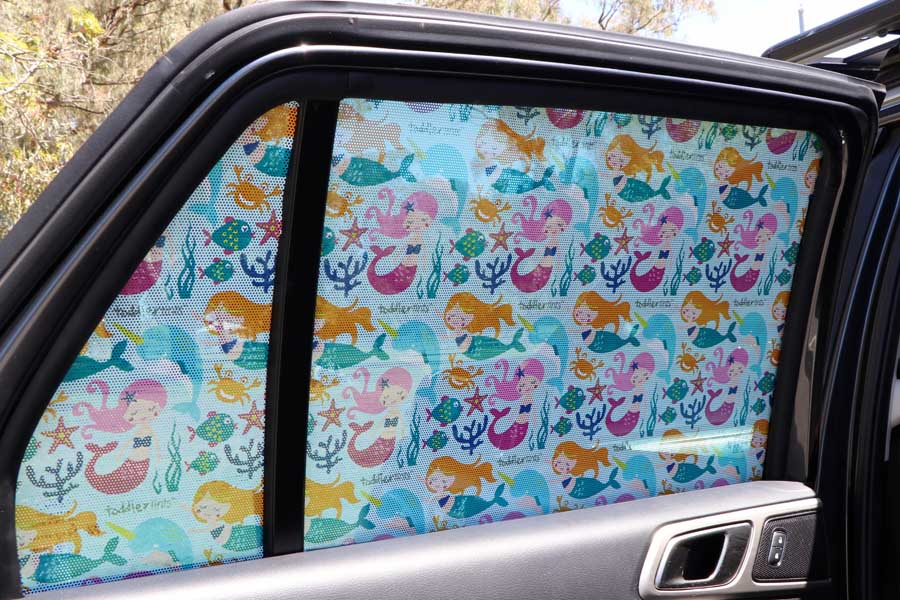 toddler tint mystical mermaid car shade