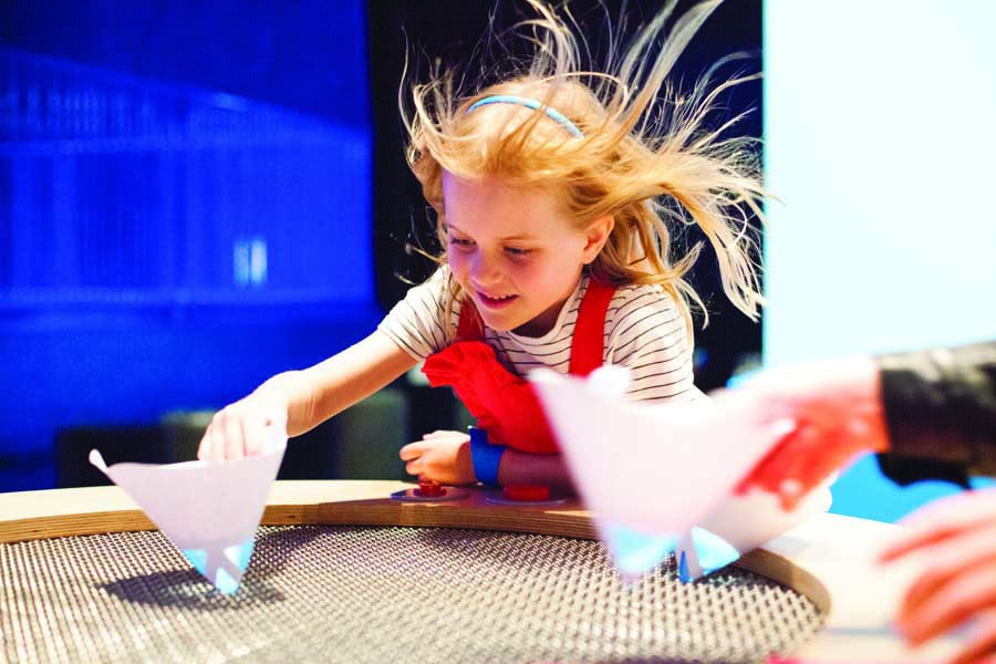 air playground exhibition at scienceworks. image museums victoria