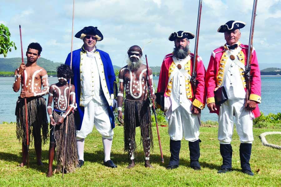 cooktown will mark the anniversary of captain cooks landing. image vanessa gillen