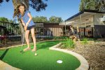 feature playing mini golf at a reflections holiday parks north haven