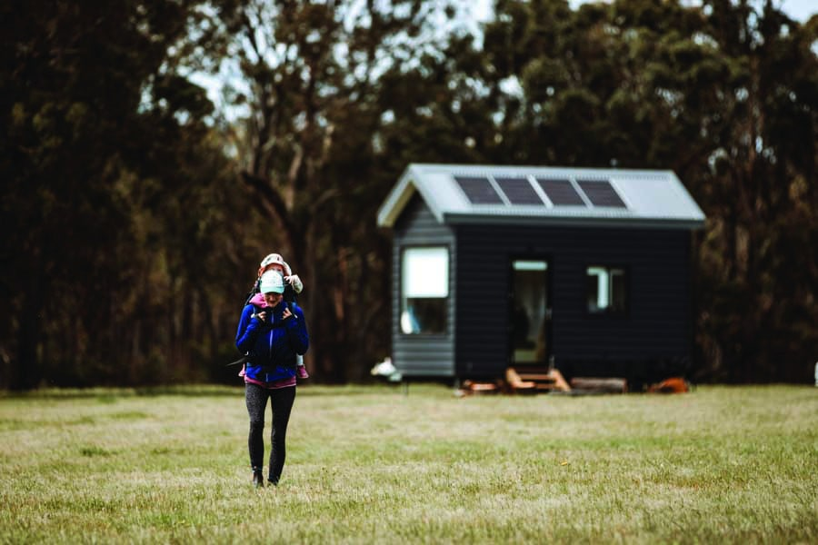 stay in a tiny house with in2thewild tiny holidays. image ed sloane