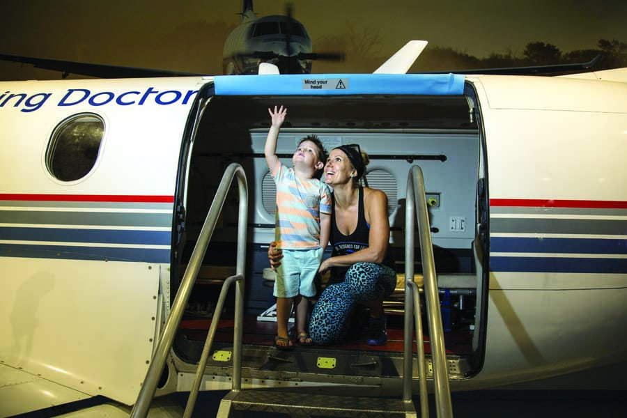 visit the royal flying doctor service in darwin. image tourism nt