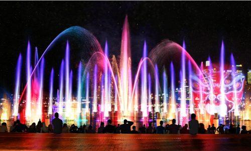 2013 Vivid Light render Aquatique Show International Darling Harbour1