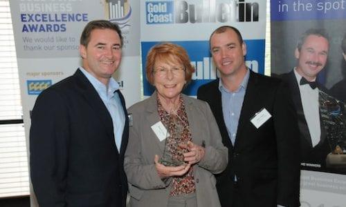 Barry 530 and Matt at GC Business Awards