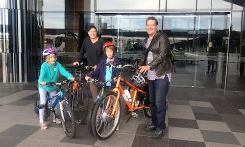 Bike at Hilton