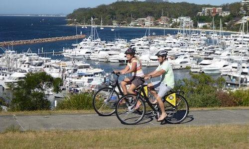 Bike hire in Port Stephens