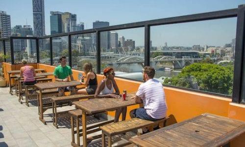 Brisbane City YHA Rooftop