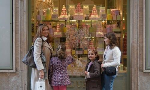 Chocolate in Europe Laduree of Paris Rome