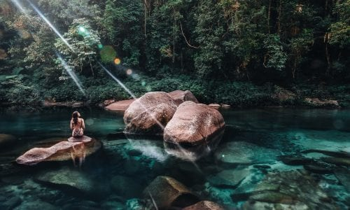 FEATURE Babinda Boulders Mandatory credit Tourism and Events Queensland 1
