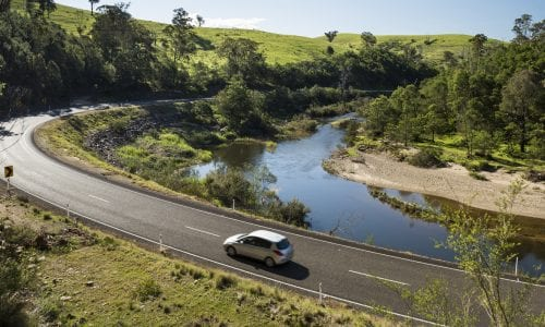 FEATURE VIC Tambo River Great Alpine Road