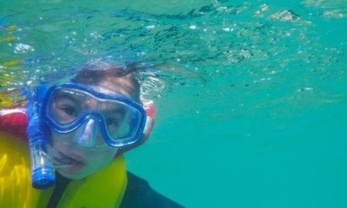 FNQ Ivy snorkelling underwater