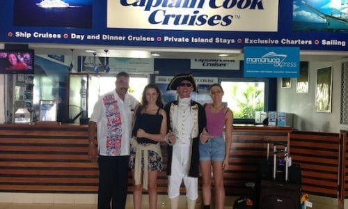 Fiji Blog Captain Cook Cruises with Tori Sam