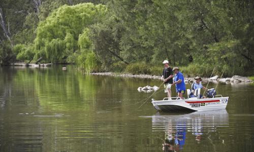 Fishing on the Gwydir River near Bingara New England CREDIT Paul FoleyDestination NSW