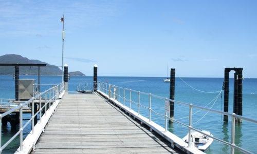 Fitzroy Island QLD jetty CREDIT iStock