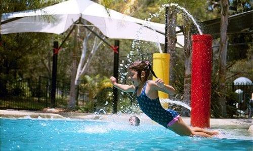 Girl in pool 560x380
