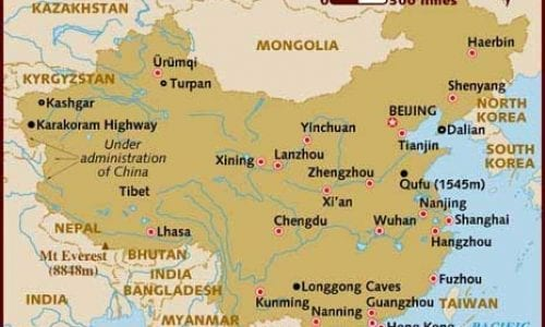 GuangShou Map