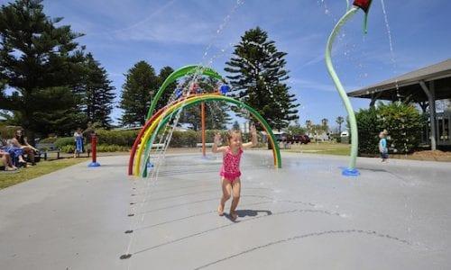 Lakeside waterpark