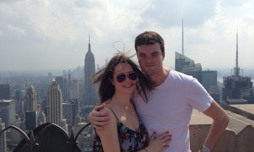 Michael Williams and Isabelle Walker in NYC