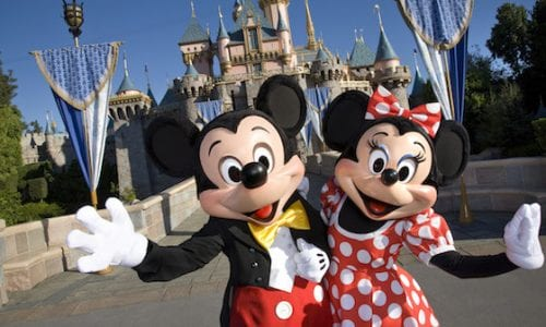 Mickey Minnie w Castle copy2