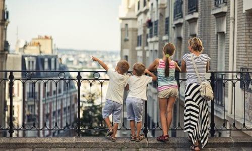 Mum and kids iStock